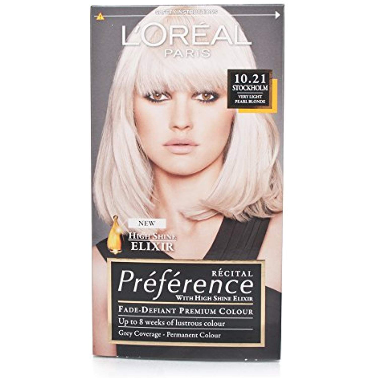 Recital Preference By L Oreal Paris 10 21 Stockholm Very Light Pearl Blonde By L Oreal Paris Be Sure To C Loreal Hair Color Loreal Hair Color Blonde Loreal