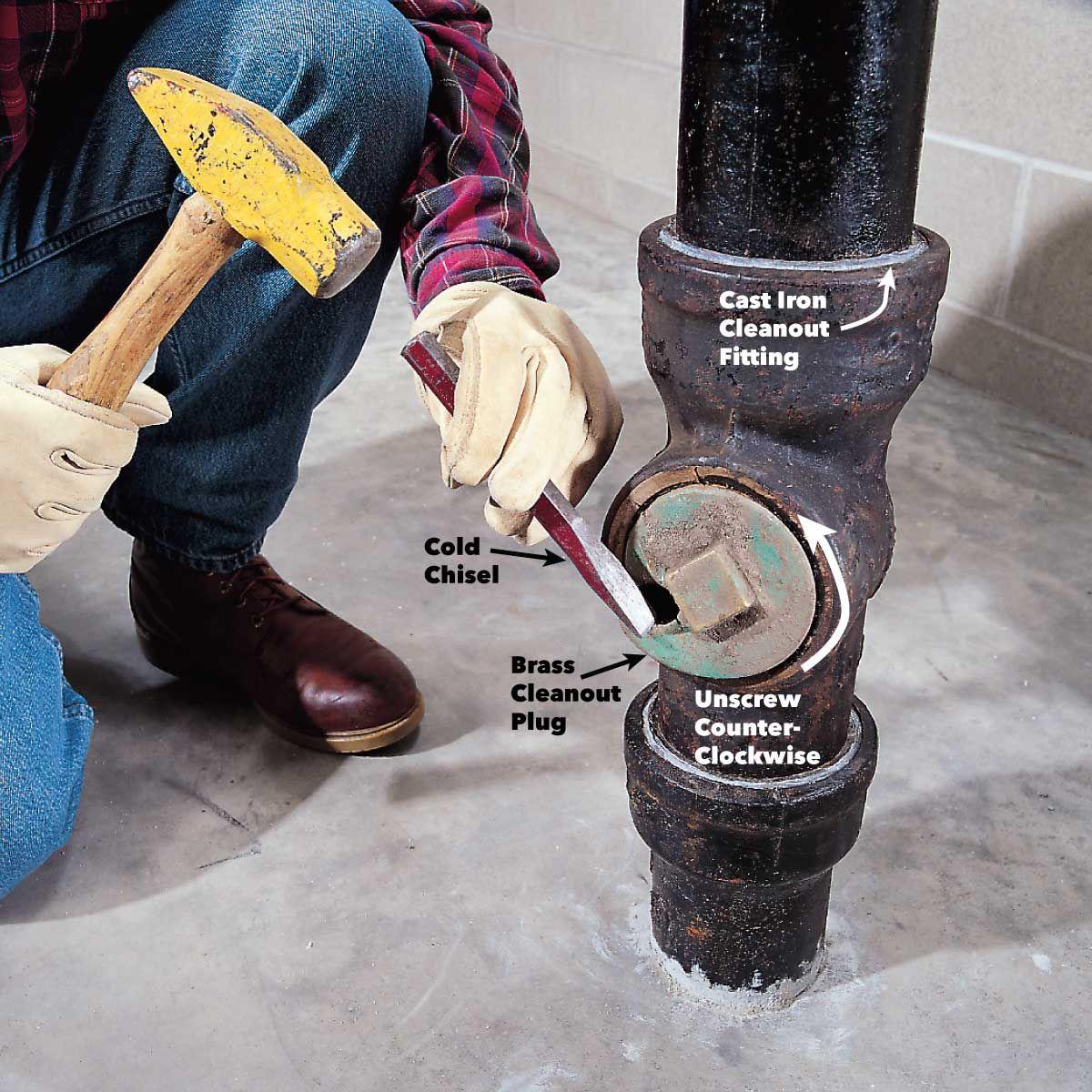 How to unclog a drain drain repair plumbing sewer line
