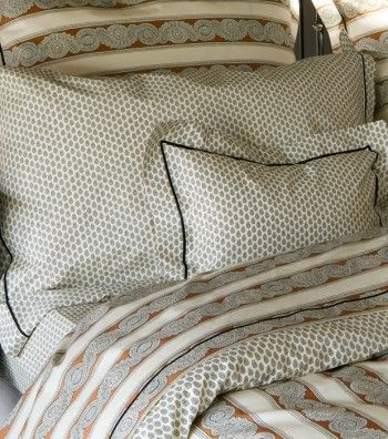 blanc cassé linge de lit Traversin