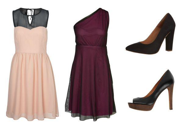 Modelos de zapatos para vestidos de noche