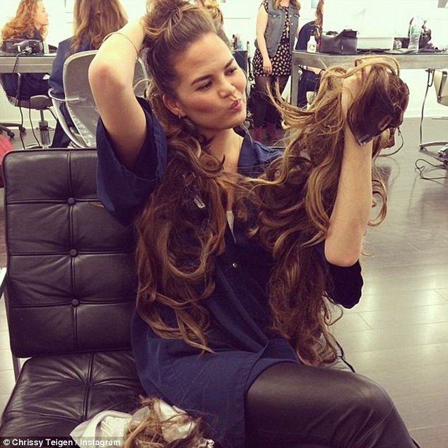 beauty works human hair extensions celebrity hair stylist jen atkin on chrissy teigen from shaide boutique uk