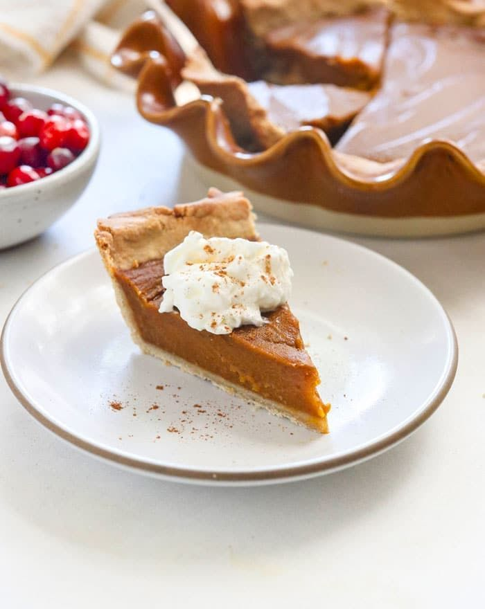 Vegan Pumpkin Pie Soy Free Detoxinista Recipe In 2020 Vegan Pumpkin Pie Pumpkin Pie Vegan Pumpkin