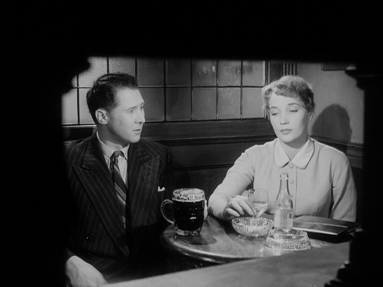 Fifties | Anthony Quayle and Sylvia Syms in Woman in a Dressing Gown ...