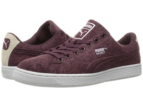 PUMA Basket Classic Embossed Wool. #puma #shoes #sneakers