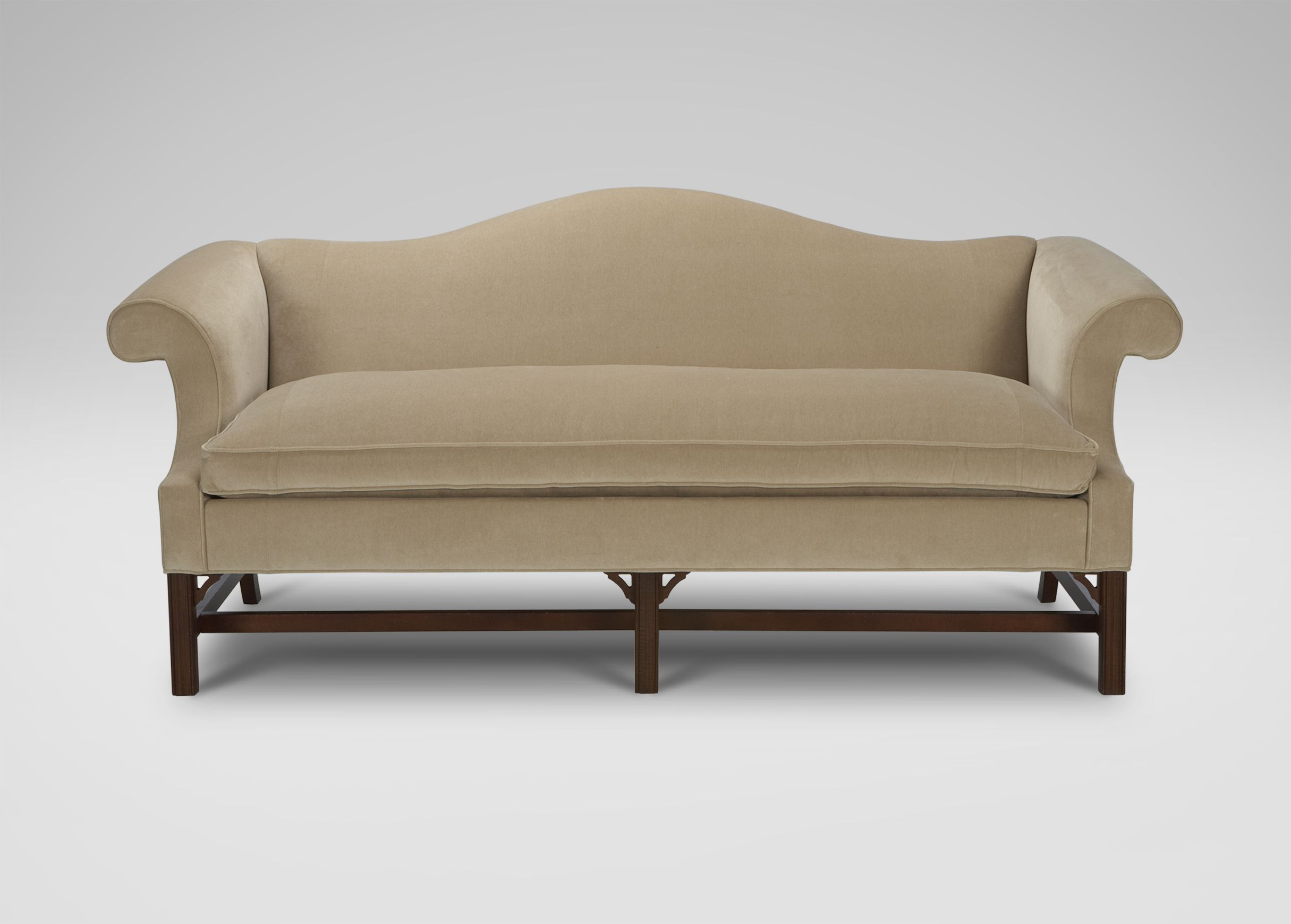 Chippendale Sofas Ethan Allen Oatmeal 2k Furniture I