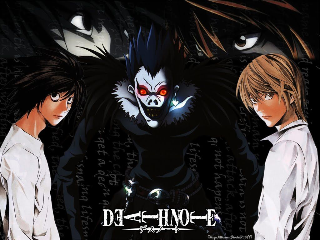 Death Note Anime Series Review  Anime    Death Note