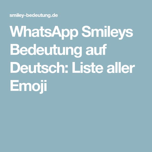 Smilies emoticons bedeutung