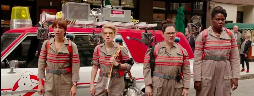 Slime Time: First Trailer for New 'Ghostbusters' Is Here (Just Don't Call It a She-Boot) #feig