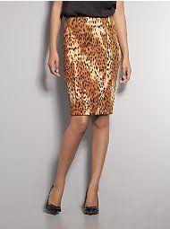 cheetah print skirt.... so cute!!