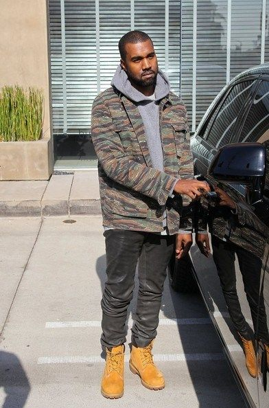 Realgentlemensclub A P C Paris Tiger Camo Army Kanye West Style Kanye West Leather Jeans