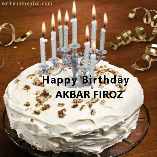 Successfully Write your name in image. Happy birthday
