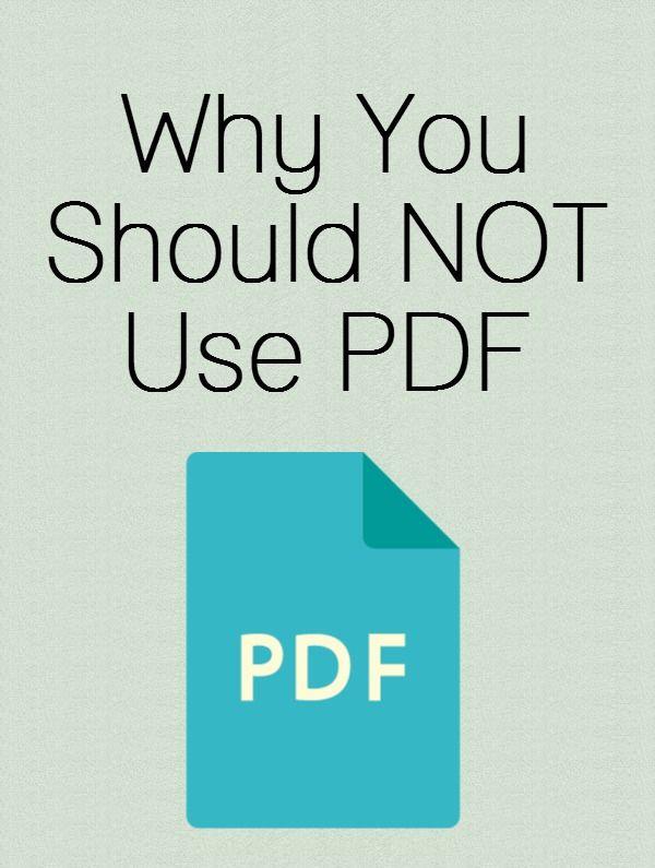 Reminder Here\u0027s why you shouldn\u0027t use a PDF resume Way You Work