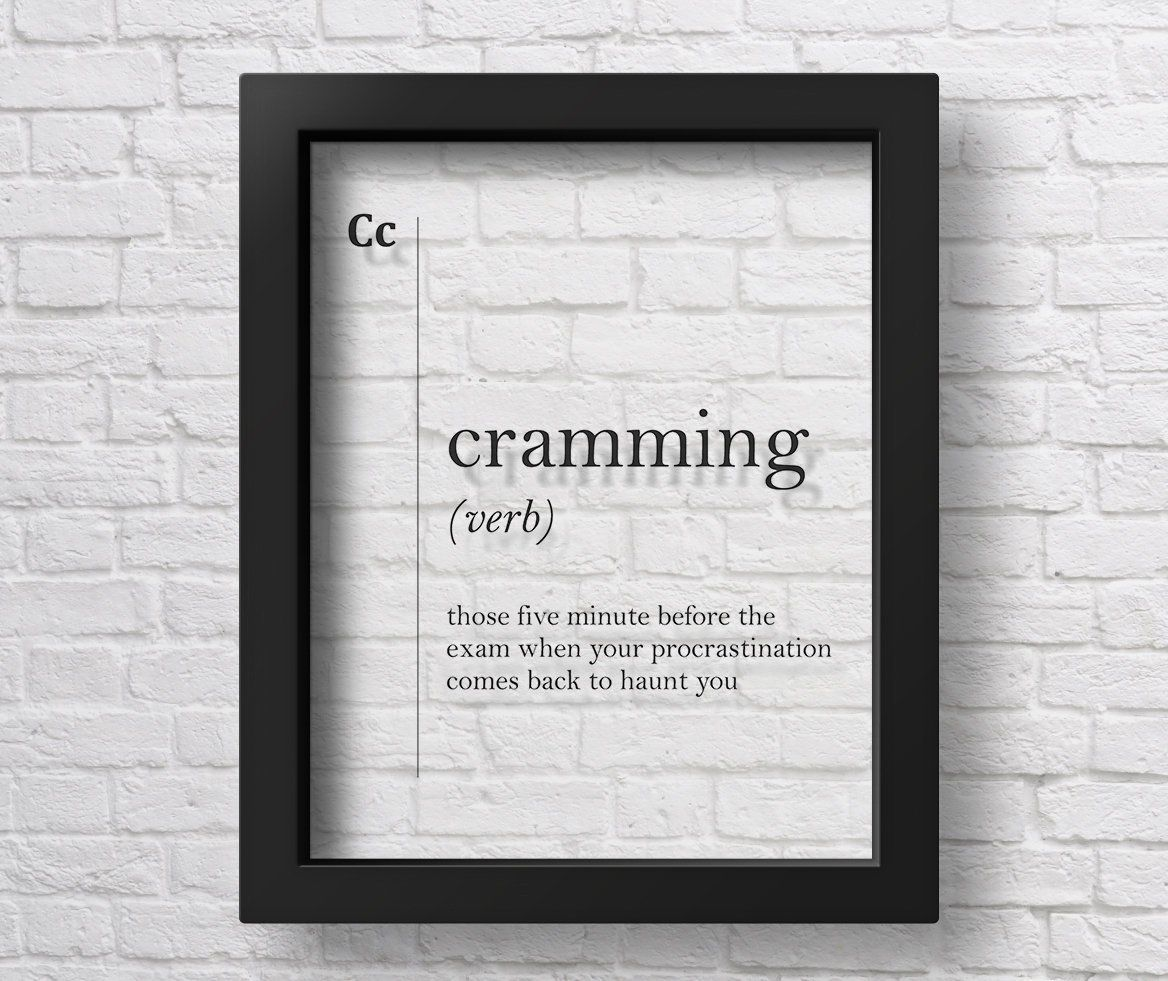 what does cramming mean