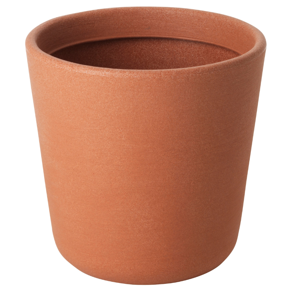 Ostlig Plant Pot Indoor Outdoor Red Brown Height 12 Decorate Your Home With Plants Combined With A Plant Pot To Suit Your Style