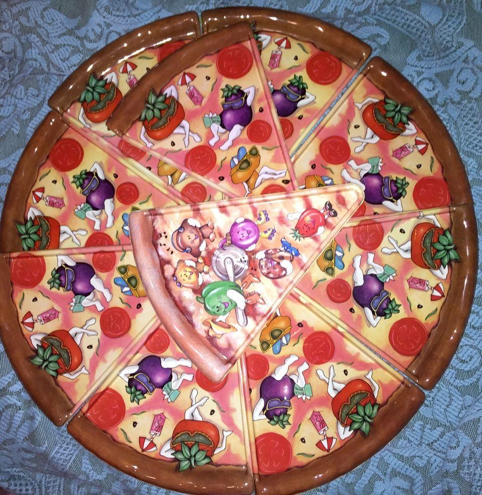 PIZZA PLATES artist E. Rosenfeld Deborah Mallow Vintage Ullman Co. USA 11.5\  lot  sc 1 st  Pinterest & PIZZA PLATES artist E. Rosenfeld Deborah Mallow Vintage Ullman Co ...