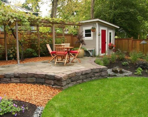Outside Garden Ideas best spiral garden ideas Easy Diy Tips To Build Your Own Garden Shed