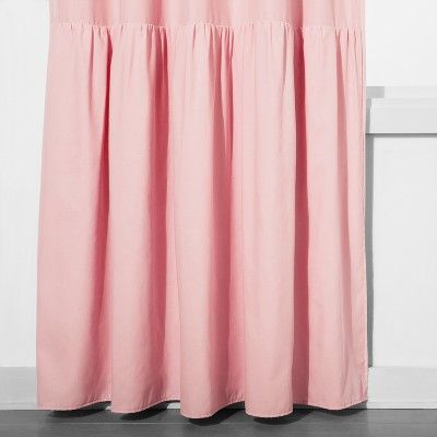 Ruffle Blackout Curtain Panel Pink 42 X84 Pillowfort Casual