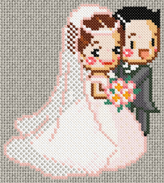 Married couple stitch pattern