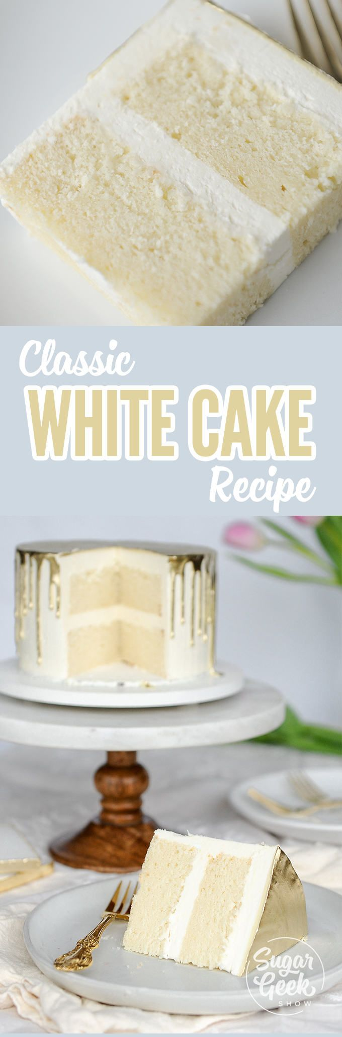 The best white cake recipe! This gets rave reviews from all my brides and is the only white cake recipe you'll ever need is part of White cake recipe -