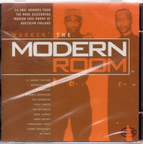 WORKIN' THE MODERN ROOM Various Artists NEW SOUL CD RARE CLASSIC NORTHERN (KRL)