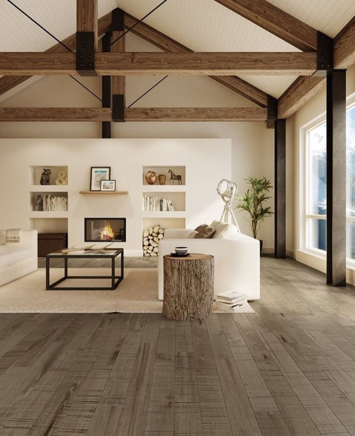 Pin di craven hill capital su interior spaces pinterest for Piccole planimetrie a concetto aperto