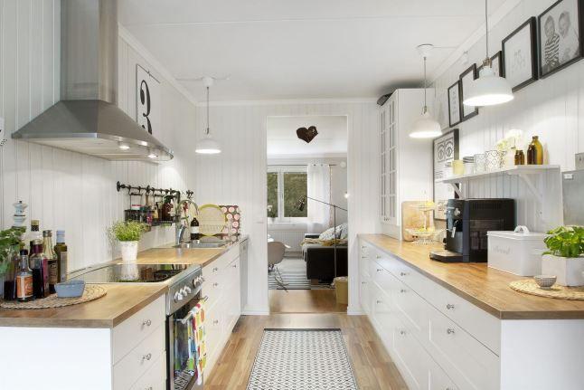 Cuisinière Non Intégrée Parquet Interiors Pinterest - Cuisiniere gaziniere pour idees de deco de cuisine