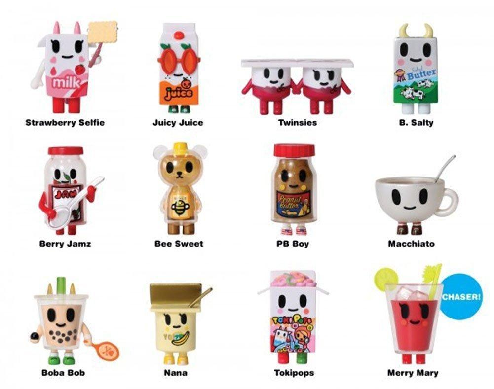 tokidoki sticker Tokipops Breakfast Besties