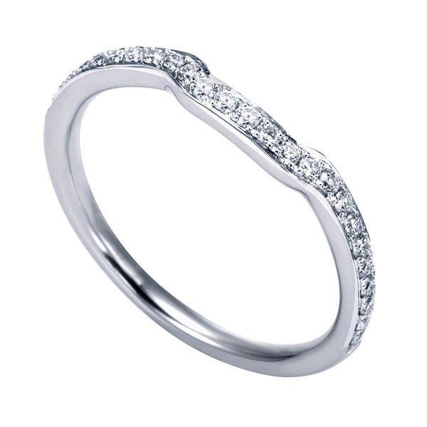 Genesis Designs Wb6966w44jj Wedding Ring 14k White Gold Contemporary