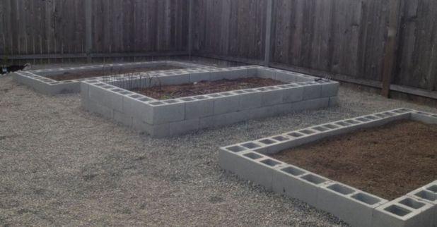 Wie baue ich ein Cinder Block Raised Garden Bed #betonblockgarten