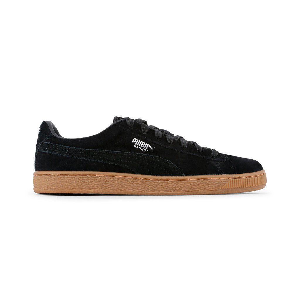 top design prix réduit acheter bien Puma Black Suede Classic Sneakers With Gum Sole | Products ...