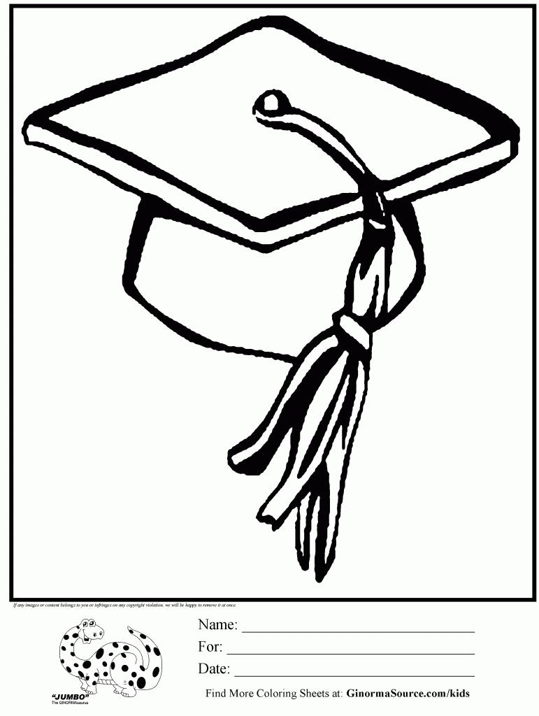 Coloring pages graduation - Clip Art Graduation Cap Coloring Page 1000 Images About 8th Grade Graduation On Pinterest Photos Clip