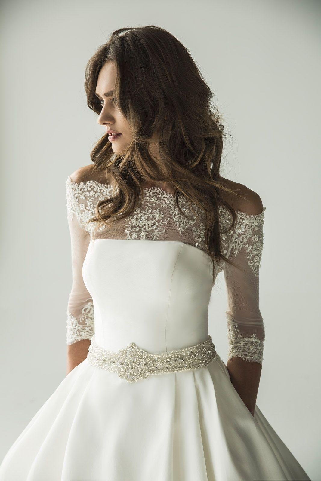 ebd22c6e7387 P Girasol (Vestido de Novia). Diseñador: Penhalta. ... | Wedding ...