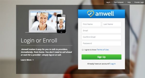 Amwell - making doctor visits easy #momsloveamwell