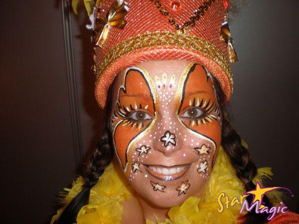 Fotowedstrijd Carnaval 2012   Fotowedstrijd Schminkcreaties