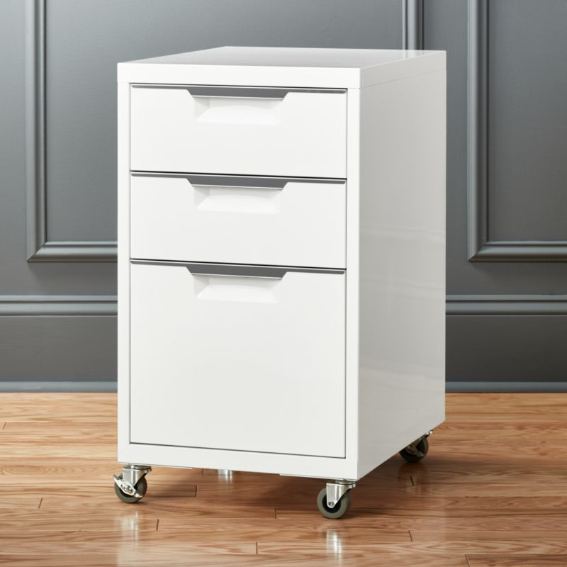 Tps 3 Drawer White File Cabinet Reviews Drawer Filing Cabinet Filing Cabinet Modern File Cabinet
