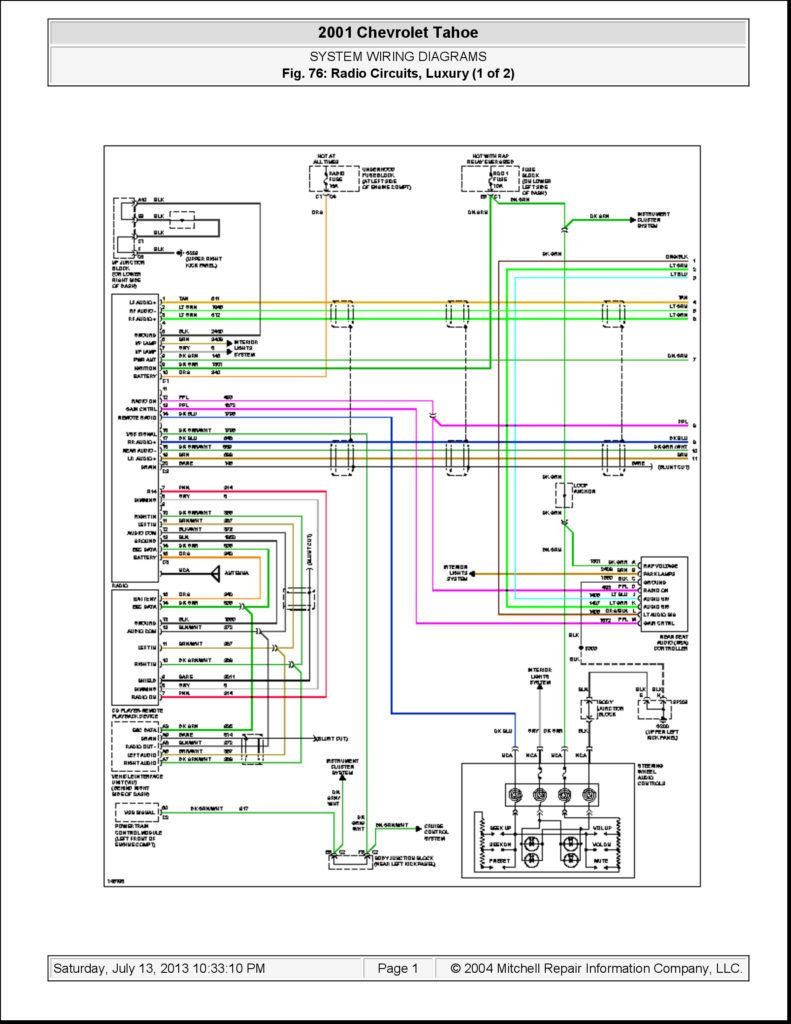 Free Wiring Diagrams With Mitchell And Template 2005 Gmc Sierra Diagram  Bose Radio Tail Light Jpg In Ins… | Chevy silverado, 2003 chevy silverado,  Chevy trailblazer | 2005 Gmc Sierra Trailer Wiring Diagram |  | Pinterest