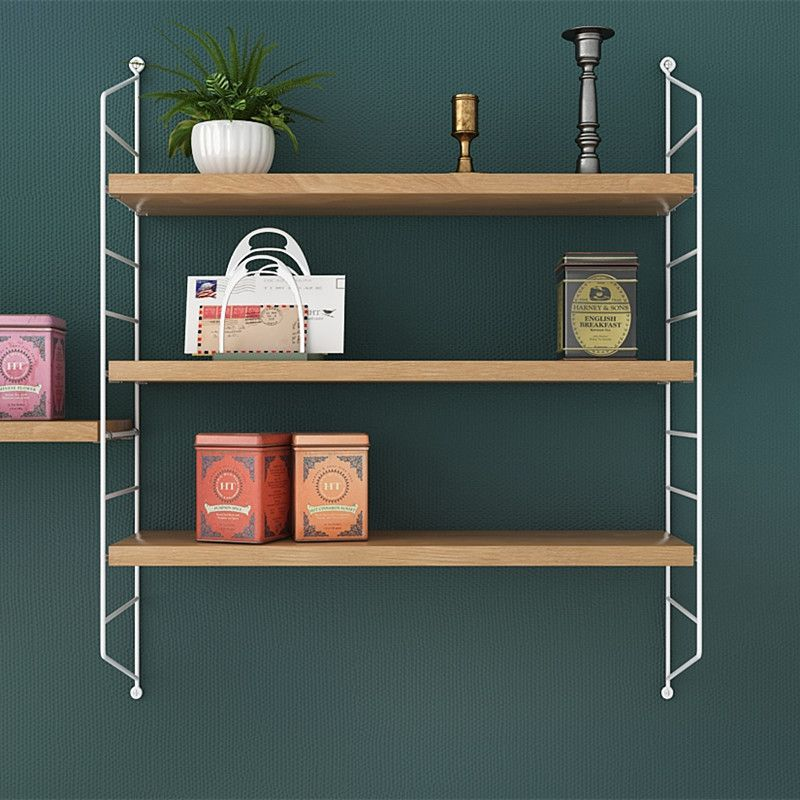 The modern Scandinavian design of pocket wall shelf, simple, practical and super stylish, which really adapts to any interior and can be individually designed! #stringshelf #stringpocket #pocketshelf