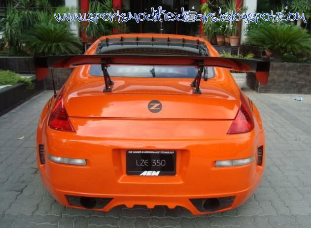 Posted In Modified Cars Nissan Sports Cars In Pakistan 350 Z