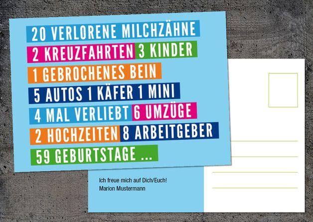 Einladungskarte Zum 60. Geburtstag: Milchzähne ............ **So  Funktioniert Die Bestellung: Lege Einfach Die Gewünschte Karte In Den  Warenkorb.
