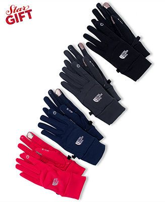 62d1aeb8b22066 The North Face Gloves, Etip Gloves - Hats, Gloves & Scarves - Men - Macy's
