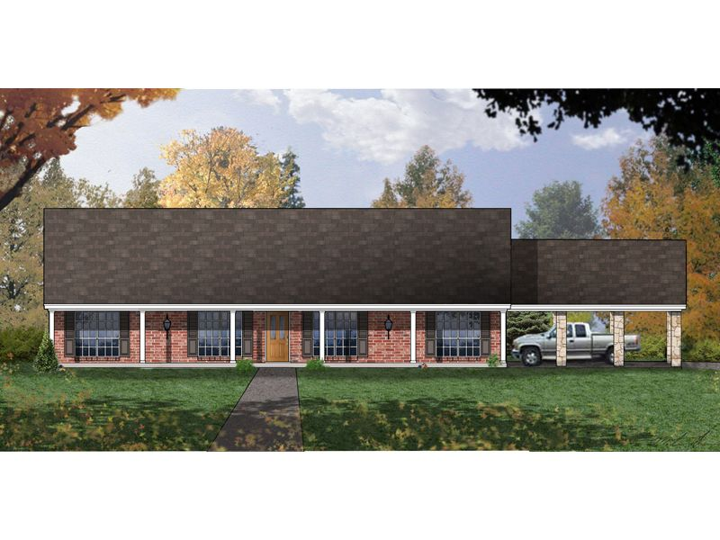 Valhalla Berm Home Country Style House Plans Ranch House Plans House Plans And More