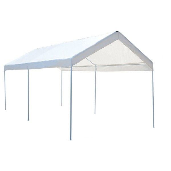 10 X 20 Steel Frame Canopy Shelter Portable Car Carport Garage Cover Party Tent Canopy Shelter Car Canopy Canopy