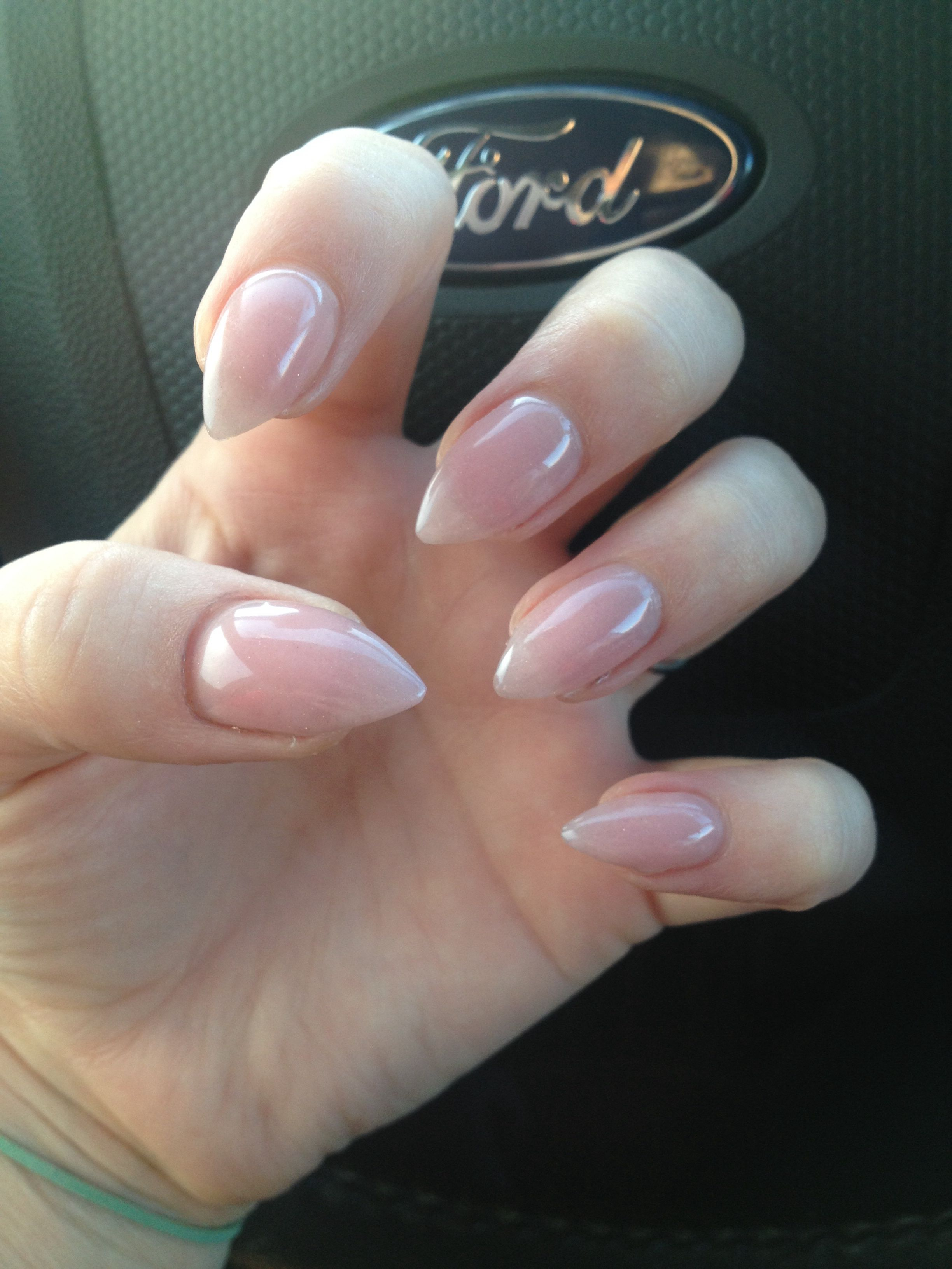 Trendy Nail Designs For Your Pointy Nails To Look Chic