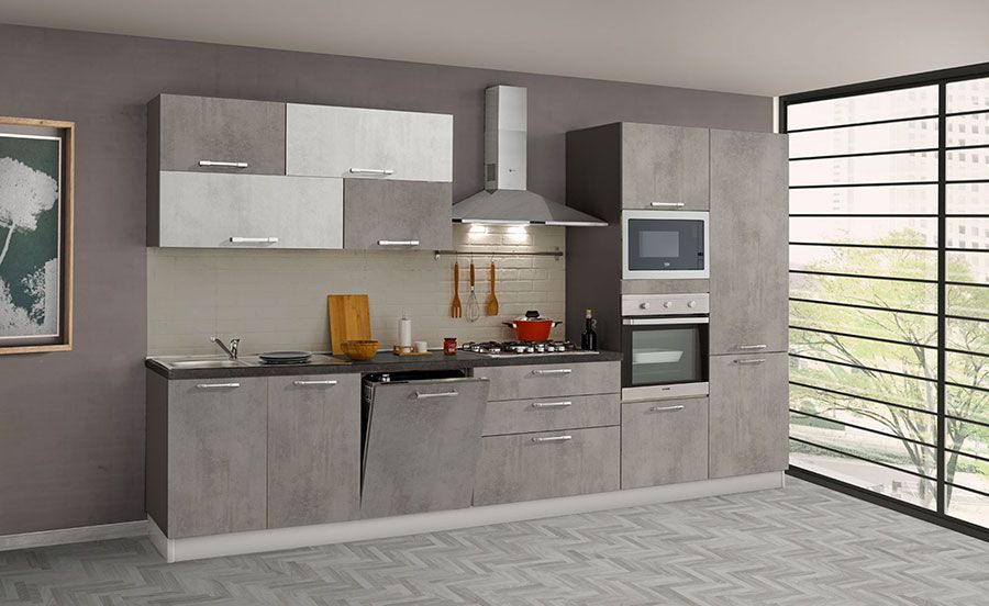 Cucine Di 3 Metri Lineari In Diversi Stili Mondodesign It Cucine Arredamento Design