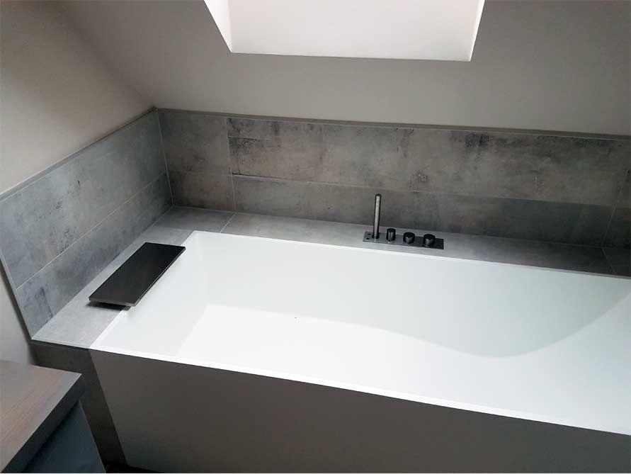 Freistehende Badewanne Firenze Aus Mineralguss Weiss Matt Oder