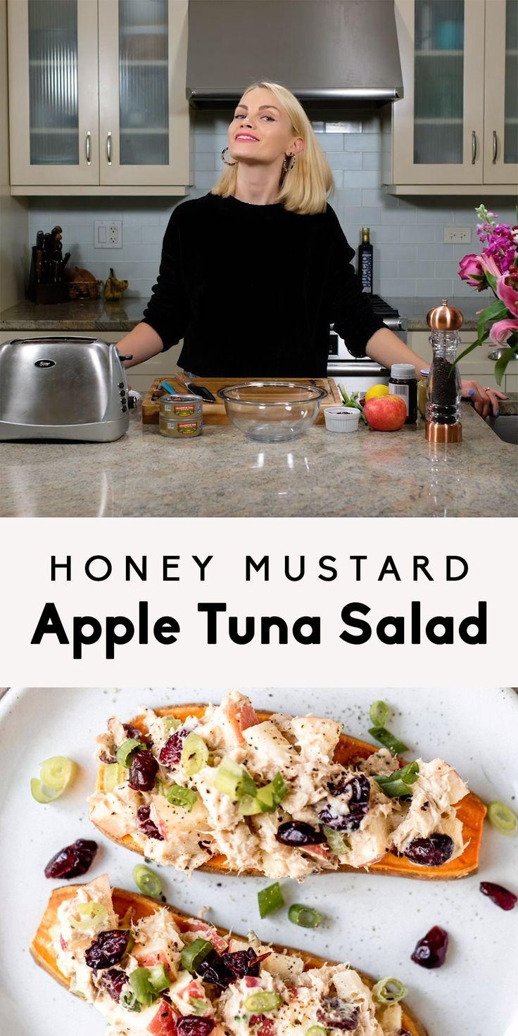 Honig Senf Apfel Thunfisch Salat   - sooooo delicious! -
