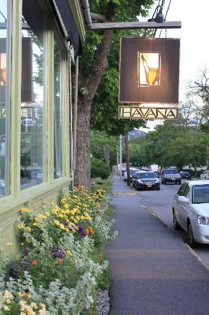 Havana Restaurant Bar Harbor Maine Romantic Atmosphere Excellent