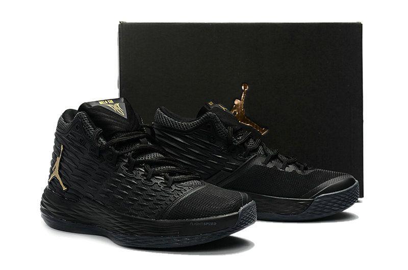 0603c51d91fa Free Shipping Only 69  New 2017 Jordan Melo M13 Black Metallic Gold ...