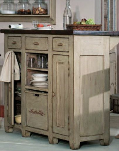 Bas de buffet collection brocante copyright interiors france