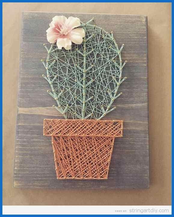 Top 10 Cactus String Art DIY – String Art DIYString Art DIY